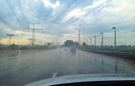 חורף מסוכן: נתונים על תאונות הדרכים בחורף